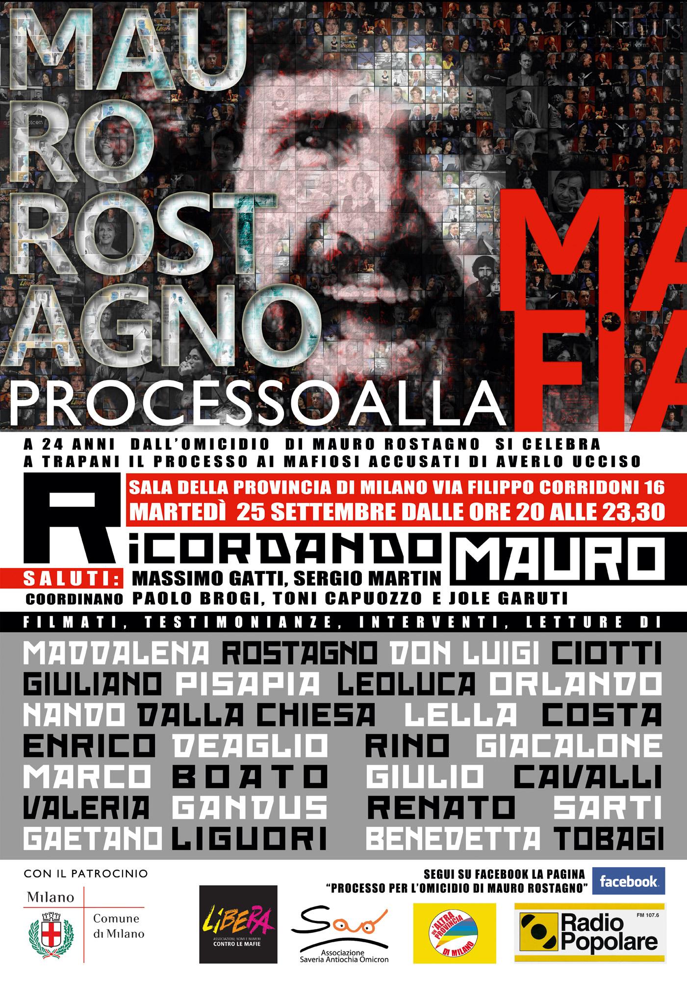 Ricordando Mauro Rostagno: Don Luigi Ciotti