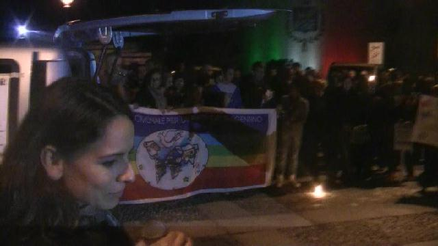 Manifestazione antimafia a Sedriano: l'intervento di Ilaria Ramoni