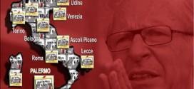 Trattativa Stato-Mafia: a Milano, sit-in davanti al tribunale.