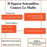 SAPERE SCIENTIFICO CONTRO LE MAFIE