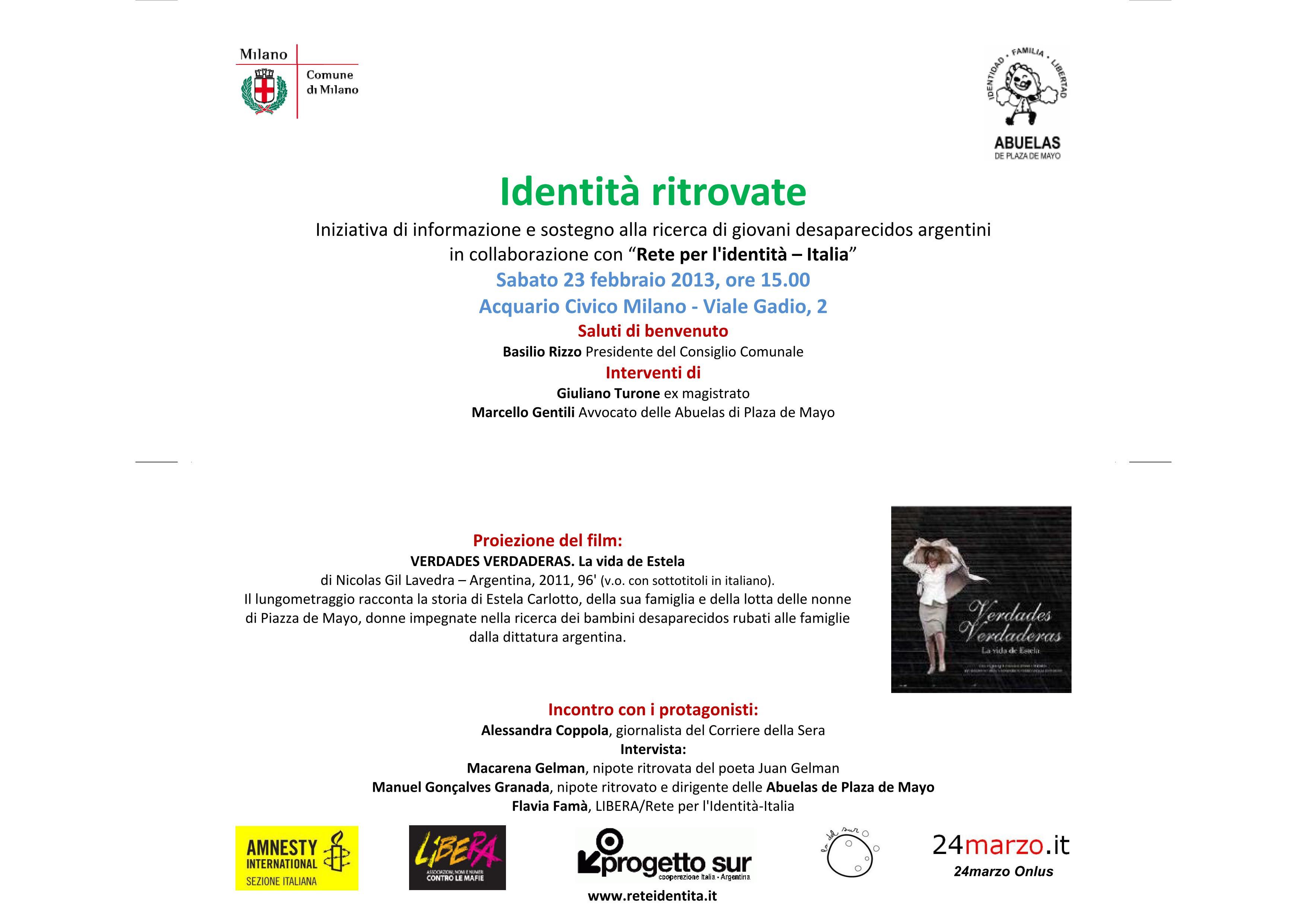 Desaparecidos in Argentina, un problema di identità. Perché parlarne.