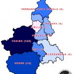 Mappa dei beni confiscati in Piemonte