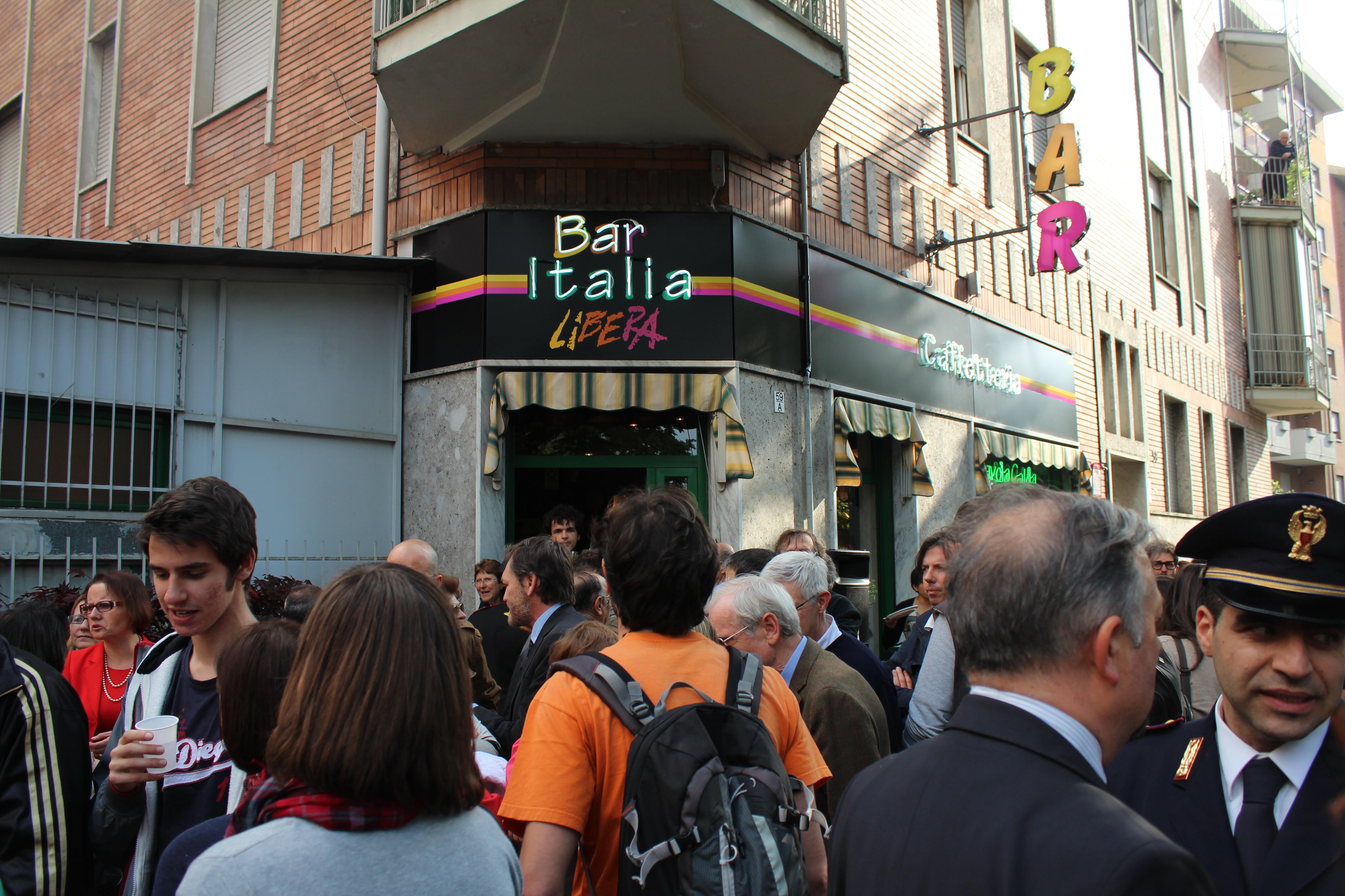 Torino, Bar Italia Libera.