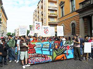 Pavia in marcia contro il gioco d'azzardo