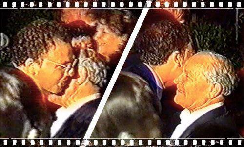 Perché, Ministro? Il bacio dimenticato di Alfano al boss