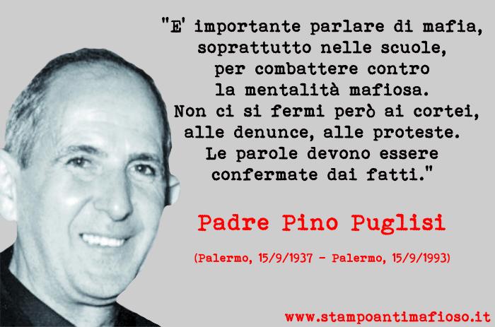 Padre Pino Puglisi. Un prete di strada.