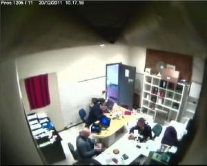 foto sede operativa della banca clandestina a Seveso. Dal www.ilgiorno.it 3-4-2014