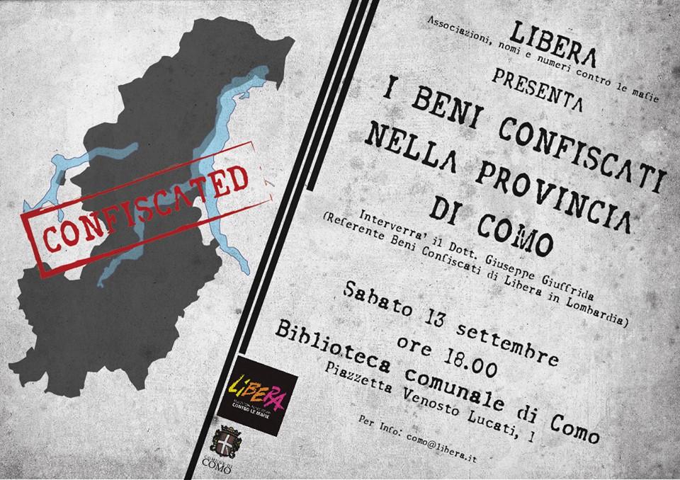 I beni confiscati in provincia di Como