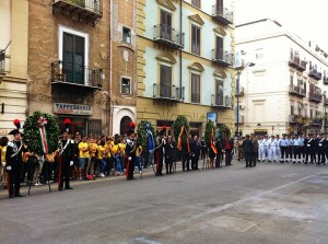 Commemorazioni del 3 settembre in via Carini a Palermo