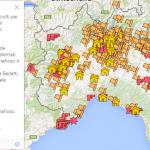 La mafia al nord (mappa)