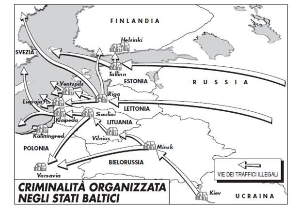Lituania, cos'è e come si muove la criminalità organizzata nel paese baltico