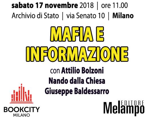 Bookcity Milano 2018, un dibattito su mafia e informazione