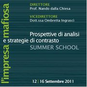 Al via la Summer School on Organized Crime