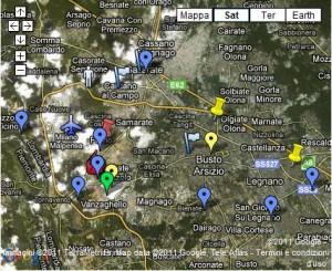 Mappa della criminalità organizzata nell'Altomilanese e Varesotto