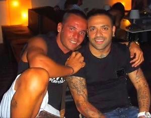 Fabrizio Miccoli e Mauro Lauricella