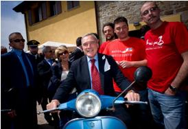 Uni(ami)amo l'Italia in Vespa e Libertà: il diario di bordo