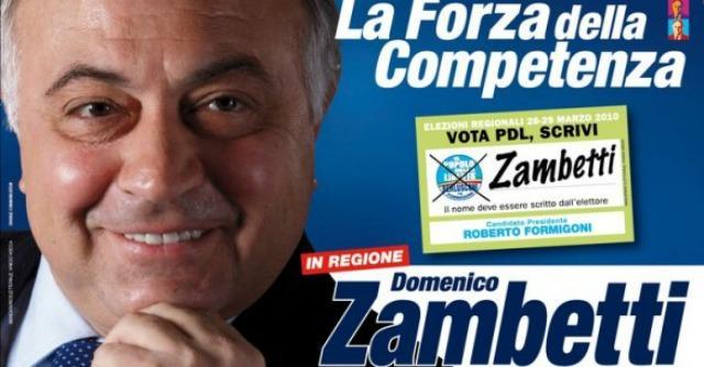 Processo Zambetti, inizia a Milano il primo grado