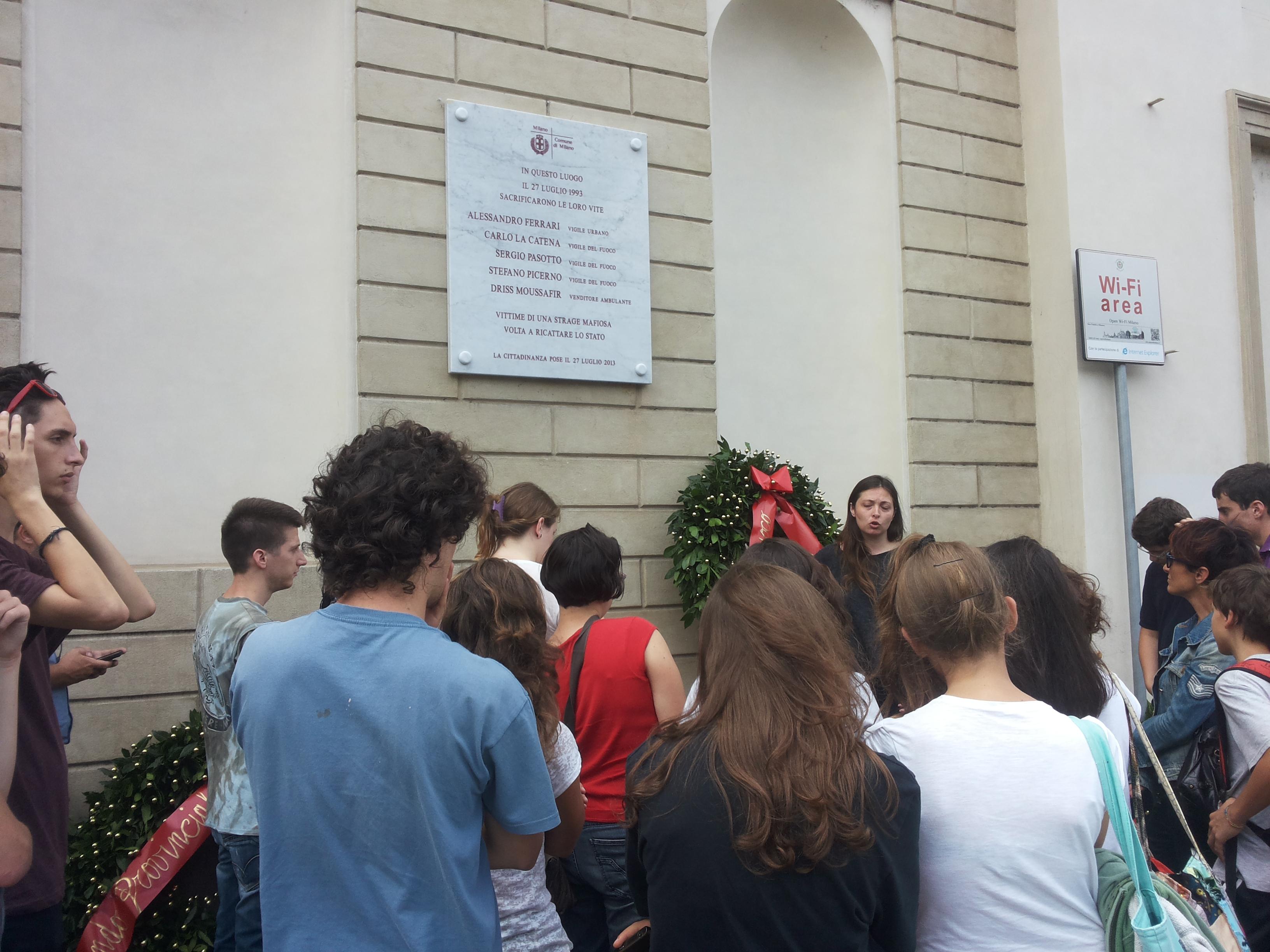 Da Lecco a Milano, tour antimafia