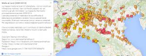 mappa mafia al nord