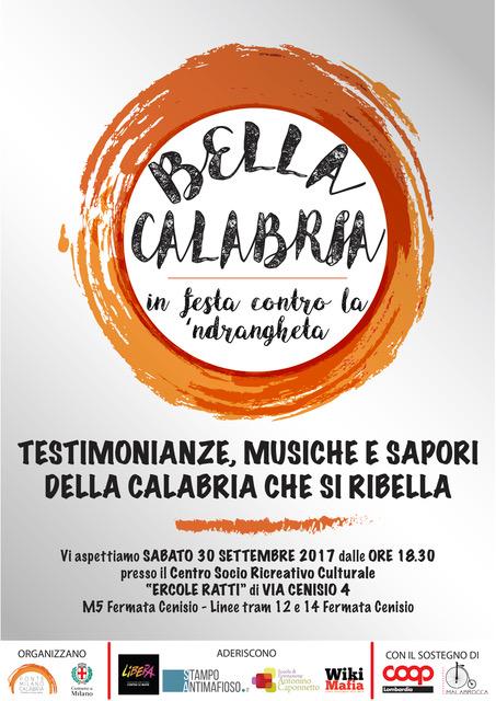 Bella Calabria! In festa contro la 'ndrangheta