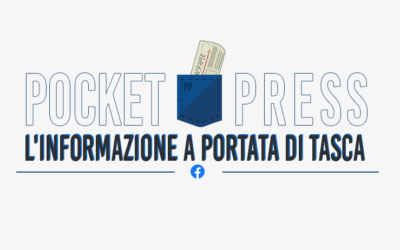 Pocket press, l'informazione viaggia sui social