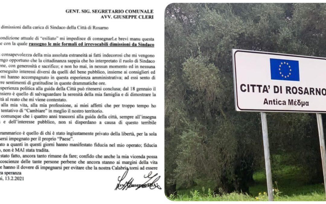 Operazione Faust, si dimettono il sindaco e 10 consiglieri di Rosarno