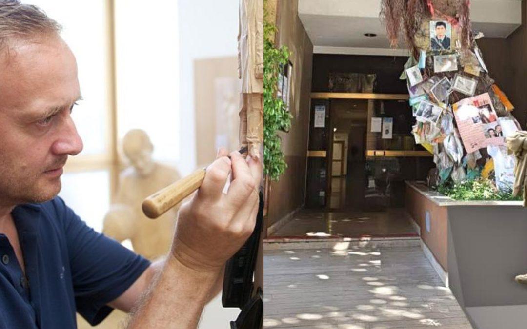Verso il 23 maggio, il progetto Spazi Capaci: intervista allo scultore Peter Demetz