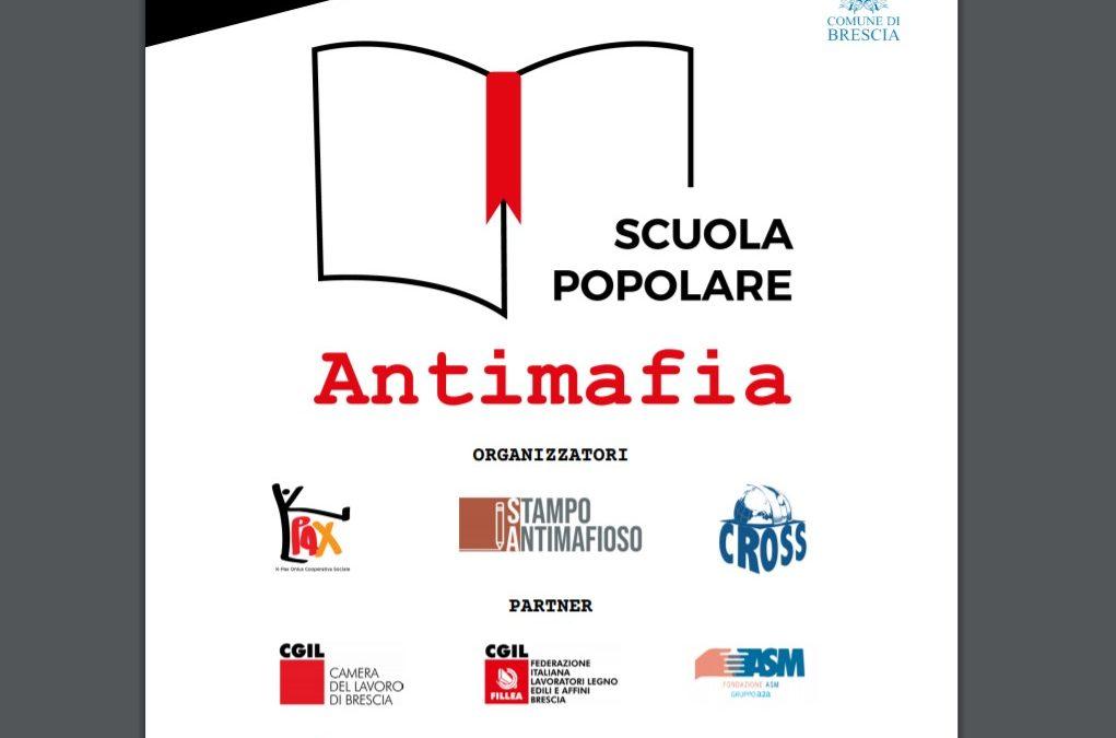 Scuola Popolare Antimafia: possibile iscriversi fino al 9 Luglio