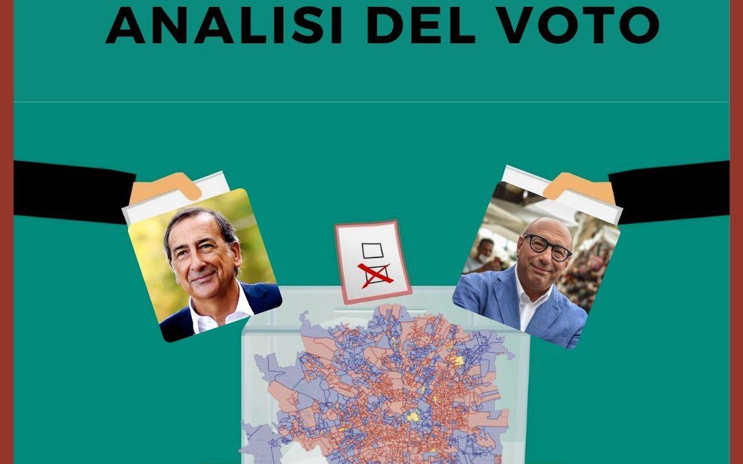 Milano 2021 – Mappa dei risultati elettorali